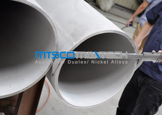 ASTM A358 / ASME SA358 Stainless Steel Double Weled Pipe TP321 / 321H Annealed & Acar