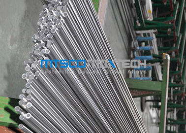 Cina 24 SWG ​​1/2 Inch Tabung Hidrolik TP304 / 304L Stainless Steel Seamless Pipe pabrik