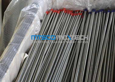 Bright Annealed Tabung Hidrolik Stainless Steel Seamless ASTM A213 TP316L ISO