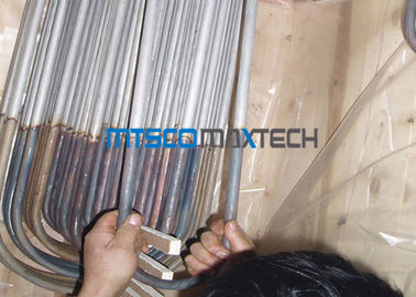 S30403 1,4306 Stainless Steel U Bend Heat Exchanger Tabung Seamless Jenis Untuk Boiler