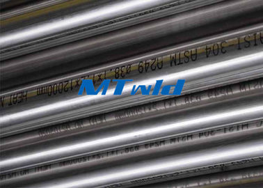 Cina Annealed Stainless Steel Welded Sanitary Tube Untuk Industri Air ASTM A270 pabrik