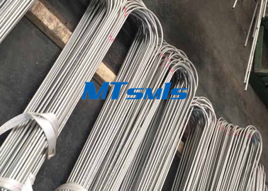 ASTM A213 / ASTM A269 TP304L Heat Exchanger Tube Stainless Steel Untuk Cairan dan Gas