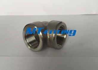 F316 / 316L 3000LBS S32750 Duplex Steel 90 Gelar Eblow Forged Fittings