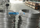ASTM A269 TP304 Stainless Steel Coiled Tubing Ukuran 6.35mm x 1.65mm x 150m / coil pemasok