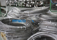 Cina Cold Rolled TP 347 / 347H 9.53mm Coiled Stainless Tabung Seamless Stainless Steel Pipe pabrik
