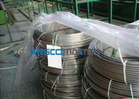 ASTM A213 Stainless Steel Coiled Tubing 1,4404 / 1,4306 / 1,4407 Untuk Industri Gas