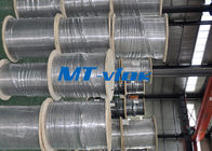 08/03 Inch ASTM A269 Diameter Kecil Stainless Steel Welded Super Long Coiled Tabung Baja pemasok