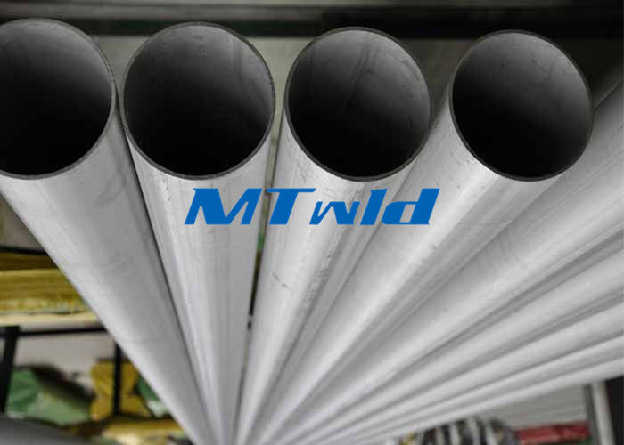 ASTM A789 TP 317 Welded Steel Pipe Cairan Industri Welding Stainless Steel Pipe pemasok