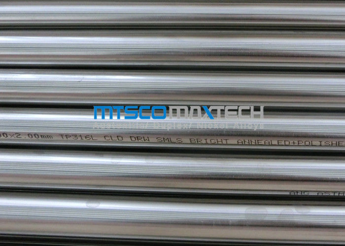 18SWG TP309S / 310S Stainless Steel Precision Tubing, Tube ASTM A213 Seamless pemasok